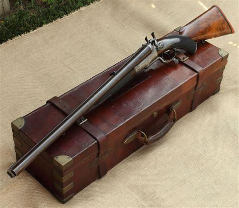 Double Barrel Hunting Rifle