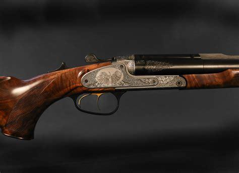 Double Barrel Safari Rifle