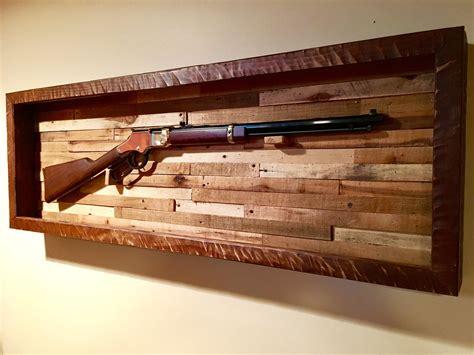 Double Barrel Shotgun Display Rack