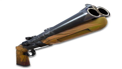 Double Barrel Shotgun Gold Fortnite