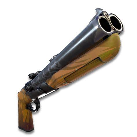 Double Barrel Shotgun Sound Effect Fortnite