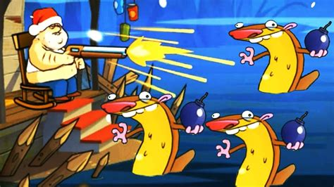 Double Barrel Shotgun Swamp Attack