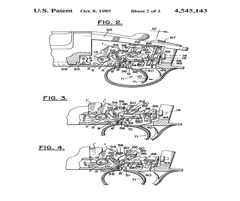 Double Barrel Shotgun Trigger Mechanism