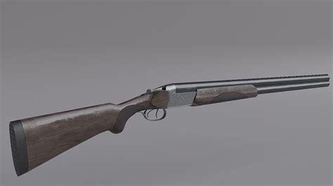Double Barrel Shotgun Vertical