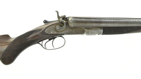 Double Barrel Shotgun With Rifle Barrel