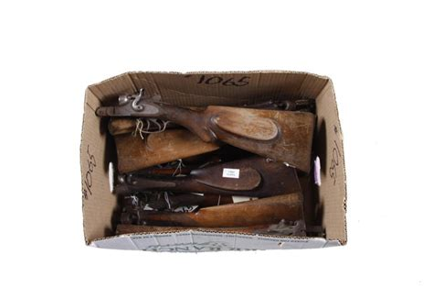Double Barrel Shotgun Wood Stock