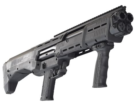 Double Barrel Tactical Pump Shotgun