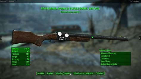 Double Barrel Vs Combat Shotgun Fallout 4