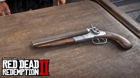 Double Barrel Vs Pump Action Shotgun Red Dead