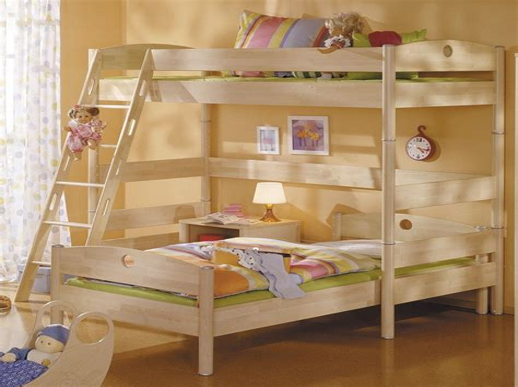 Double Bunk Beds Corner