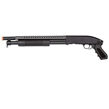 Double Eagle Airsoft Shotgun Metal With Tactical Pistol Grip