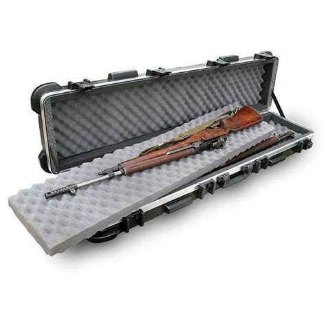 Double Rifle Case With Wheels