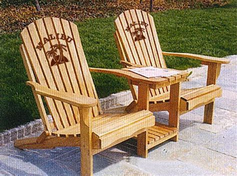 Double adirondack chairs Image