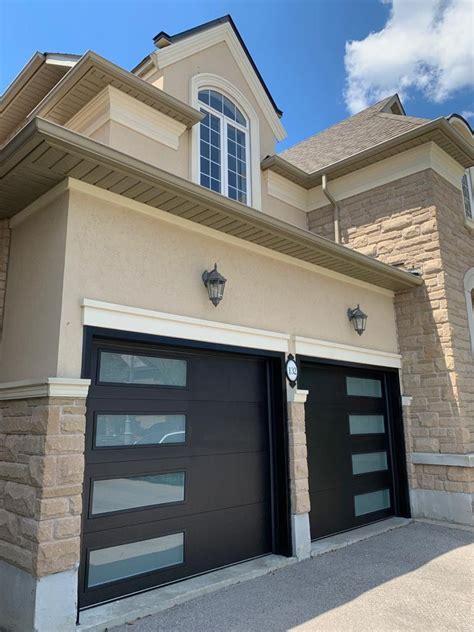 Double garage door design Image