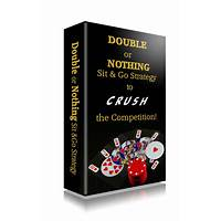 Double or nothing sit & go strategy guide! 75% commission! discount