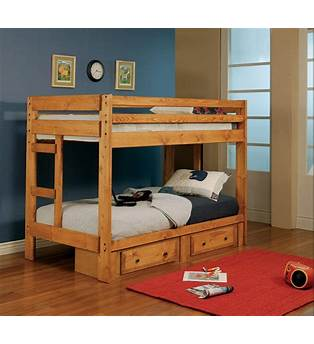 Double Over Double Bunk Bed Plans