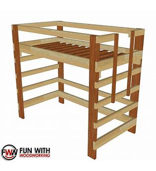 Double Size Loft Bed Plans