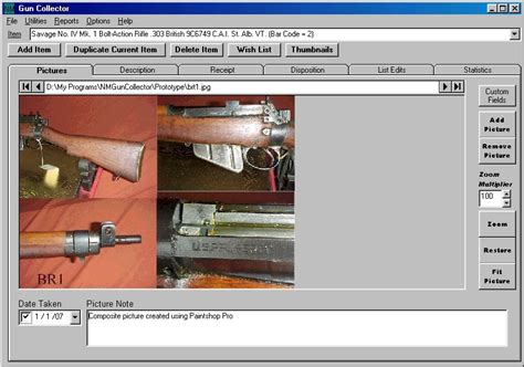 Download NM Gun Collector Software