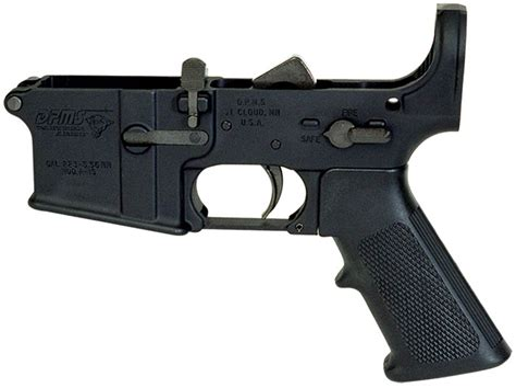 Dpms Lr05lp Lower Receiver Multi-caliber Ar Platform Black Hardcoat Anodized