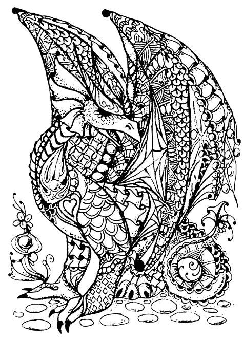 Drachen Malvorlagen Für Erwachsene Quiz