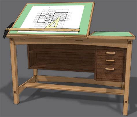 drafting table plans woodworking.aspx Image
