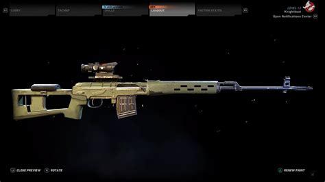 Dragunov Sniper Rifle Ghost Recon Wildlands