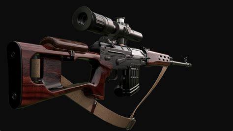 Dragunov Sniper Rifle Maximum Range