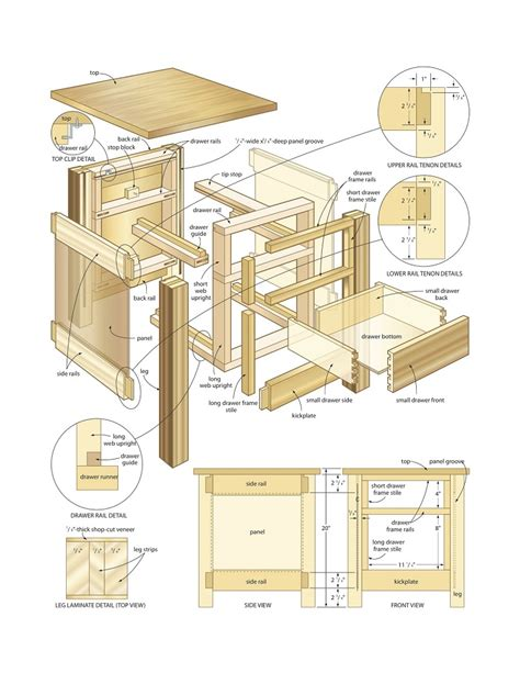 Draw woodworking plans Image