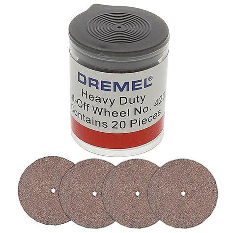 Dremel Emery Cut Off Wheel Heavy Duty 420