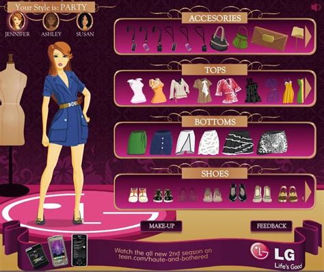 Dress designing games with judges Image