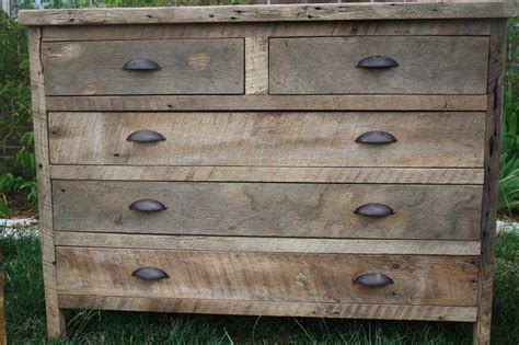 Dresser rustic barn wood Image
