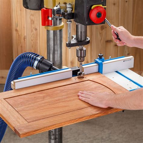 Drill press fence plans woodworker magazine Image