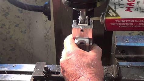 Drilling 10 22 Receiver Barrel Hole And 10 22 Boat Paddle Stock