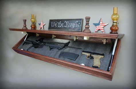 Drop Shelf For Handgun Concealment