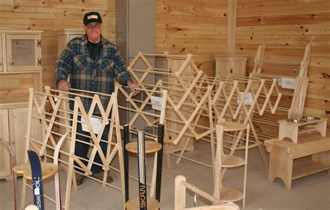 Drying rack woodworking plans Image