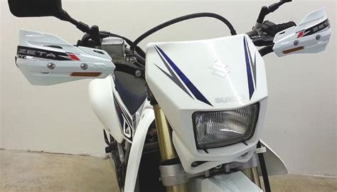 Drz400sm Handguards With Blinkers