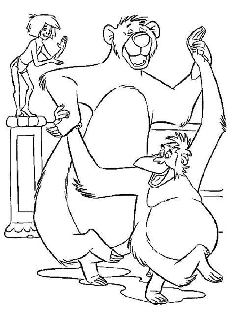 Dschungelbuch Malvorlagen Text