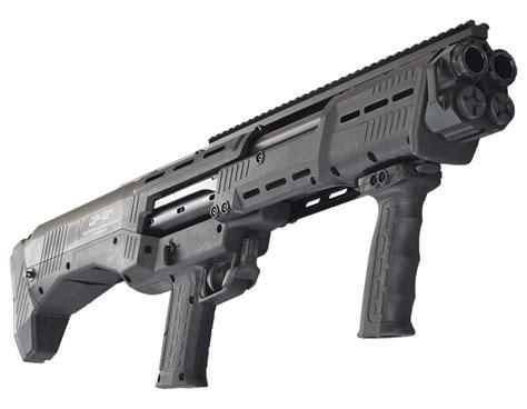Dual Barrel Tactical Shotgun