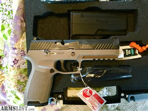 Ducks Unlimited Sig Sauer P320 For Sale And Sig Sauer M400 Enhanced Rifle And P320 Pistol Combo