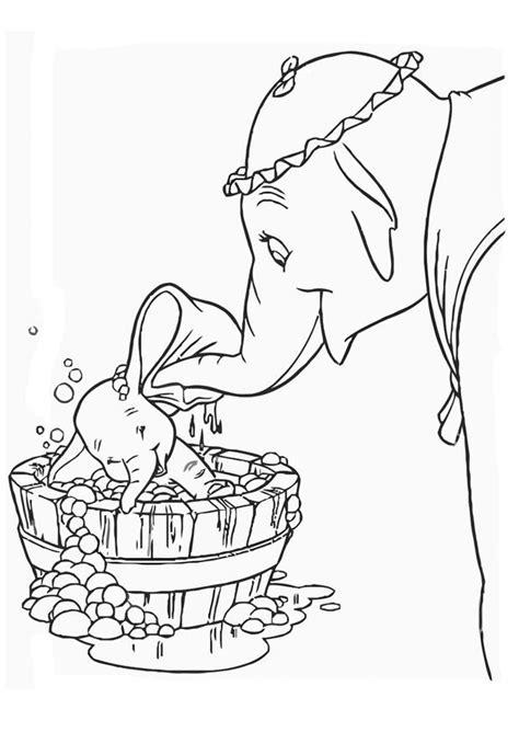 Dumbo Malvorlage