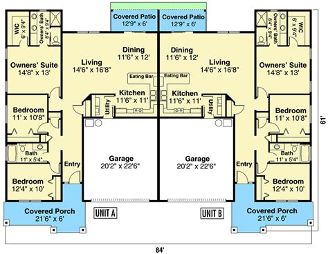Duplex Floor Plans With Garage Make Your Own Beautiful  HD Wallpapers, Images Over 1000+ [ralydesign.ml]