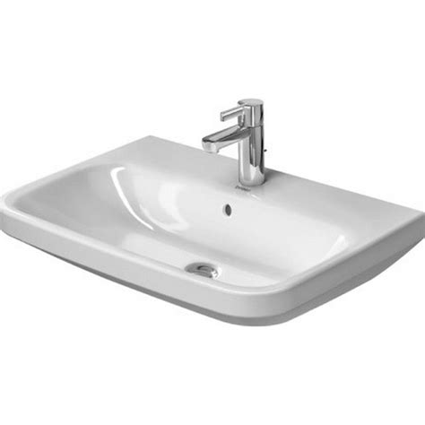 "DuraStyle Ceramic 26"" Wall Mount Bathroom Sink with Overflow"