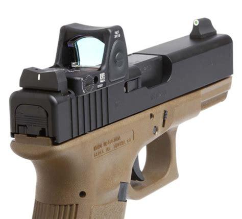 Dxw Standard Dot Suppressor Height Sights For Glock Reg
