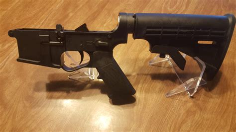 E3 Arms Omega15 Ar15 Black Polymer Complete Lower