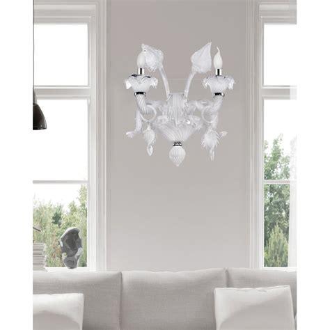 Earline Glass 2-Light Candle Wall Light