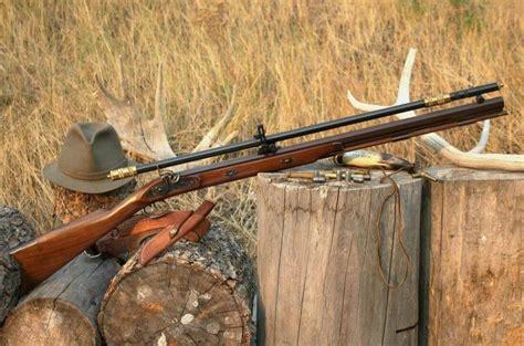 Rifle-Scopes Early Scoped Black Powder Rifles.