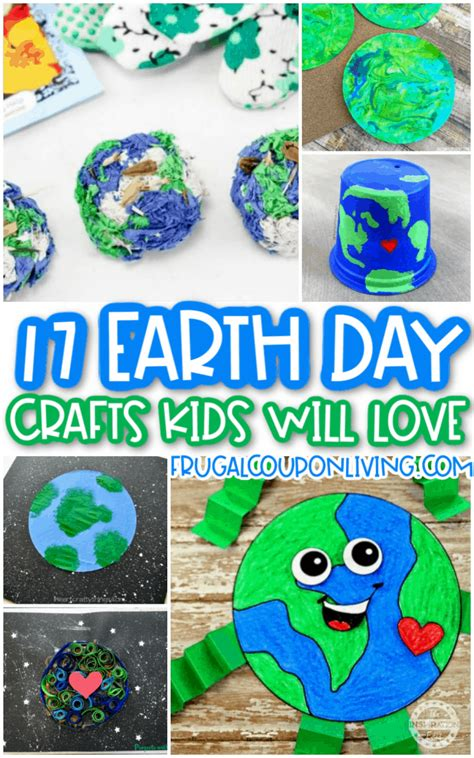 Earth day craft decor ideas for kids Image