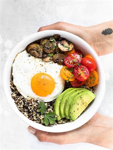 Easy breakfast for dieting
