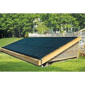 Easy build solar pool heater guides