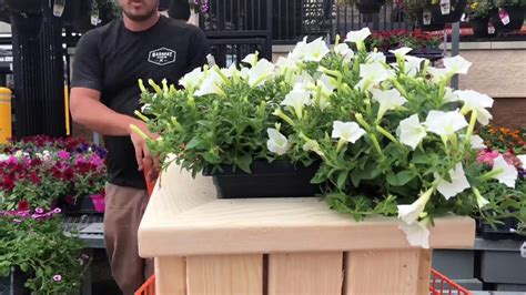 Easy diy 2x4 outdoor planter bench Image